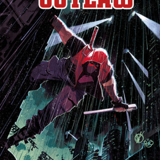Red Hood Outlaw Megaband 1 Cover